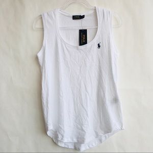 POLO Ralph Lauren | Classic White Muscle Tank M